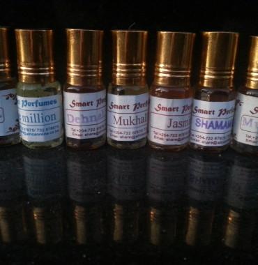 Oriental roll on bottles